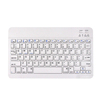 2016 Portable white wireless keyboard ABS 78keys mini bluetooth 3.0 keyboard for mini ipad 4 iphone