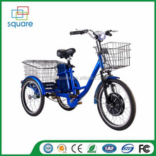 "Adult 26"" electric cargo Tricycle electric city bike with 3 wheel"