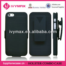 back cover for apple iphone 5 holster case
