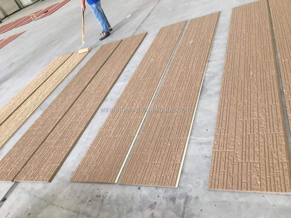 Ce certificate fiber cement board flooring particle