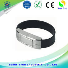 New stlye wholesale hot silicon wristband led watch usb flash drive suppliers