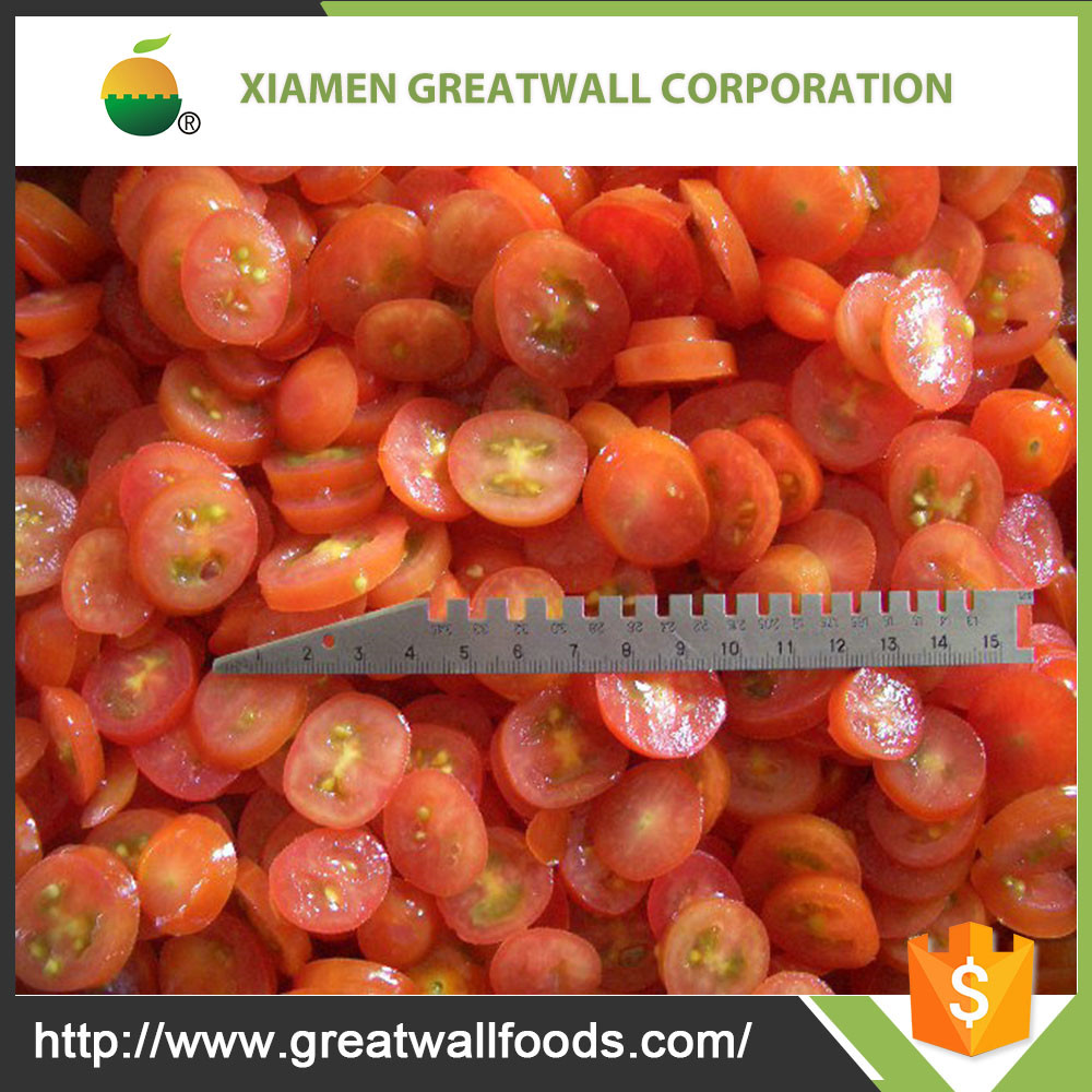 quality IQF frozen cherry tomato