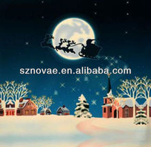 LR001 Christmas Decoration LED Picture for Wall