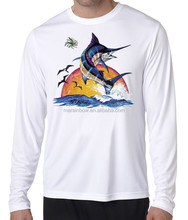Fishing Long Sleeve UPF 50+ Breathable Moisture Wicking t shirts Outdoor dri fit t shirts for sale