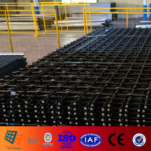 Long Wear Life and High tensile Aggregate Woven Wire Screens for Gabbro Aggregate
