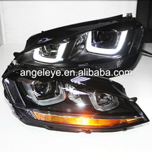 Para <span class=keywords><strong>volkswagen</strong></span> golf 7 angel eyes doble u headlight 2013-2014 años sy