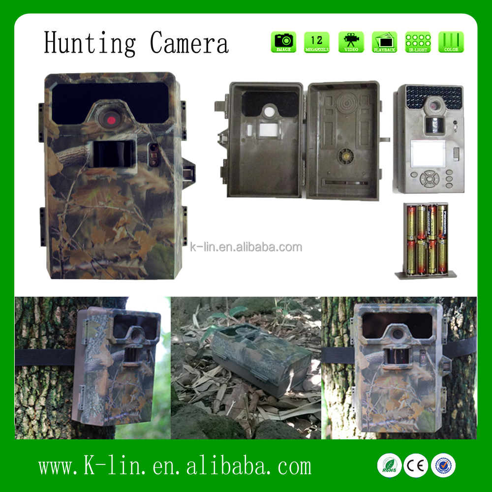 2' LCD Video Recorable Infrared Digital Game Trail Scouting thermal imaging Camera
