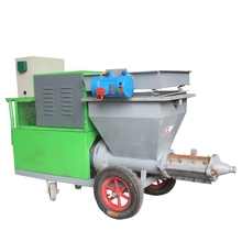 Guangzhou factory construction equipment mortar pump concrete spraying cement plastering pump machine