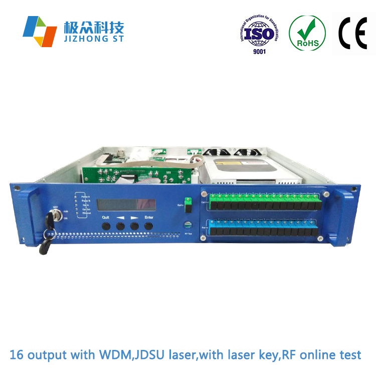 Ftth Fttb wdm edfa multiport edfa with jdsu pump