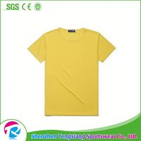 Hot Sale Plain Dryfit Polo T Shirt Yellow Oem For Men