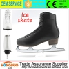 2015 new design cold resistance stainless steel blades ice skating shoes