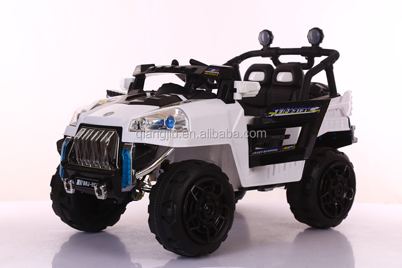 12v rechargeable kids car for drive four wheels opening doors jeep