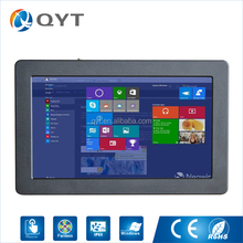 Resistive touch 12 inch rs232 serial port rugged fingerprint window 7 tablet pc with rj45 panel pc