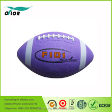 Promotional Wholesale Customized hotselling rubber rugby ball