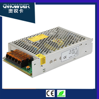 Factory price 25w smps 110v 220v Ac input to dc led driver 12v switching power supply with ce sgs