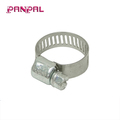 Hose clamp for tube barrel hardware clamps