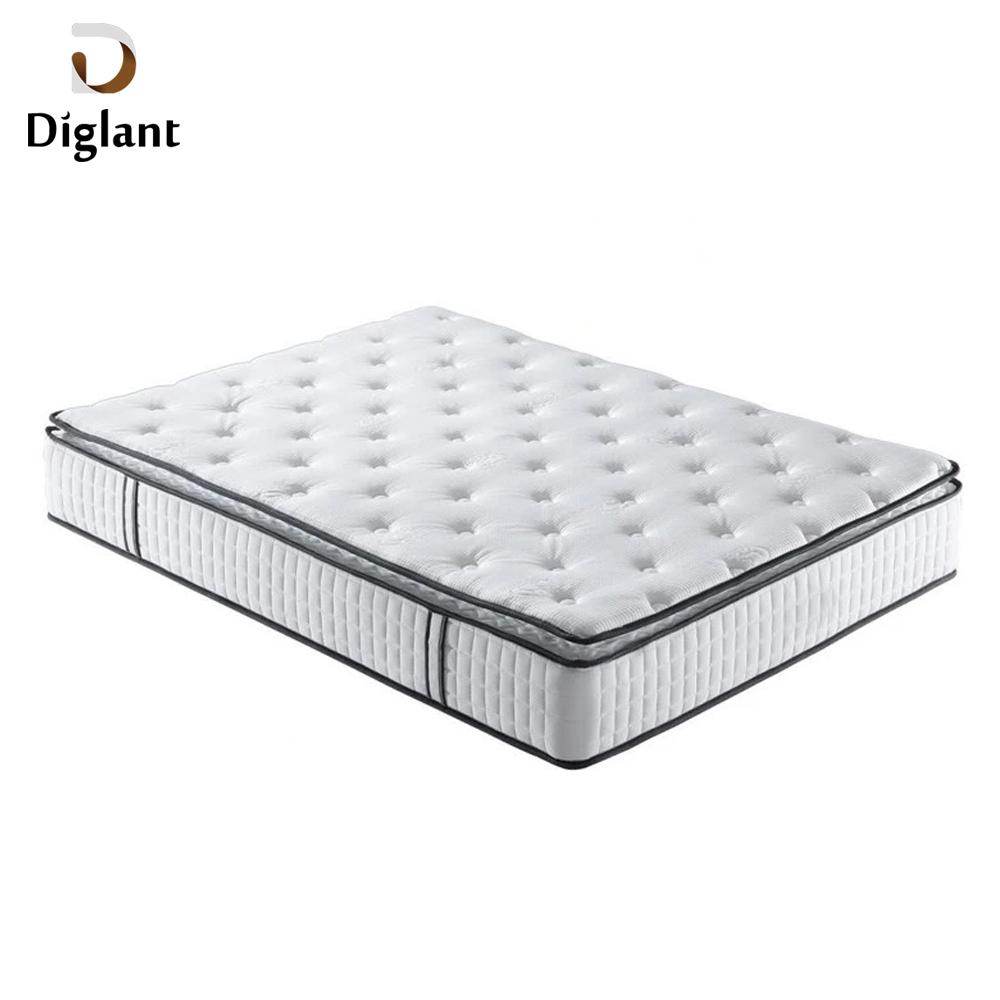 DM026 Diglant Gel Memory Latest Double Fabric Foldable King Size Bed Pocket bedroom furniture anti decubitus mattress - Jozy Mattress | Jozy.net