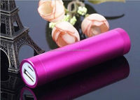 alibaba chinas round rechargeable battery lipstick emergency mobile phone charger