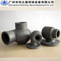 Desulphurization silicon carbide vortex spray nozzle