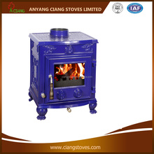 Perfect enamel blue stove with CE Approved