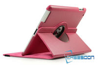 Rotating Lychee PU Leather Case For iPad Mini With Stand