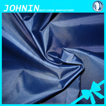 100% poly 190T taffeta with silver coating waterproof umbrella material polyester fabric pvc coating manufacturerfor raincoat
