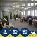 Ark Top Quality Good Price Long Lifespan Flatpack Prefabricated Steel municipal field Project Offices