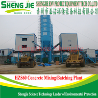 hot sale ready mix 60m3/h concrete mixing plant