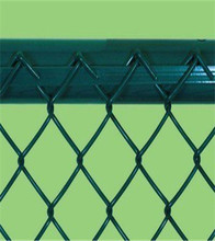 50*50mm Mesh Galvanized/ PVC coated chain link fence/hook flower net