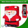 Christmas present christmas promotion cute silicone phone case