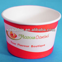 260ML Freeze Yogurt Paper Bowl PLA