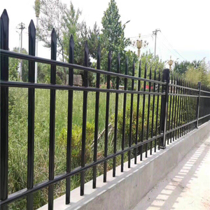 High strength outside playground hot dipped galvanized fence steel anti climb fence