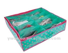 Non-woven fabrics shoes storage bag/shoes collapsible fabric storage boxes/ Shoebox
