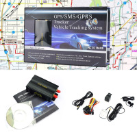 Mini GPS/SMS/GPRS Real Time Tracker TK103A Car Vehicle Tracking Device System