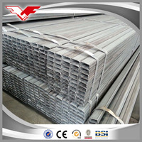 manufacturer hollow section galvanized steel pipe