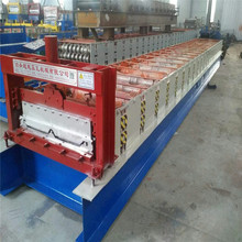 Automatic joint hidden roof roll forming machine