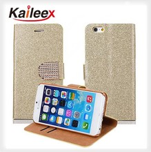 Leather Case For Iphone 6,For Iphone 6 Bling Wallet Diamond Case