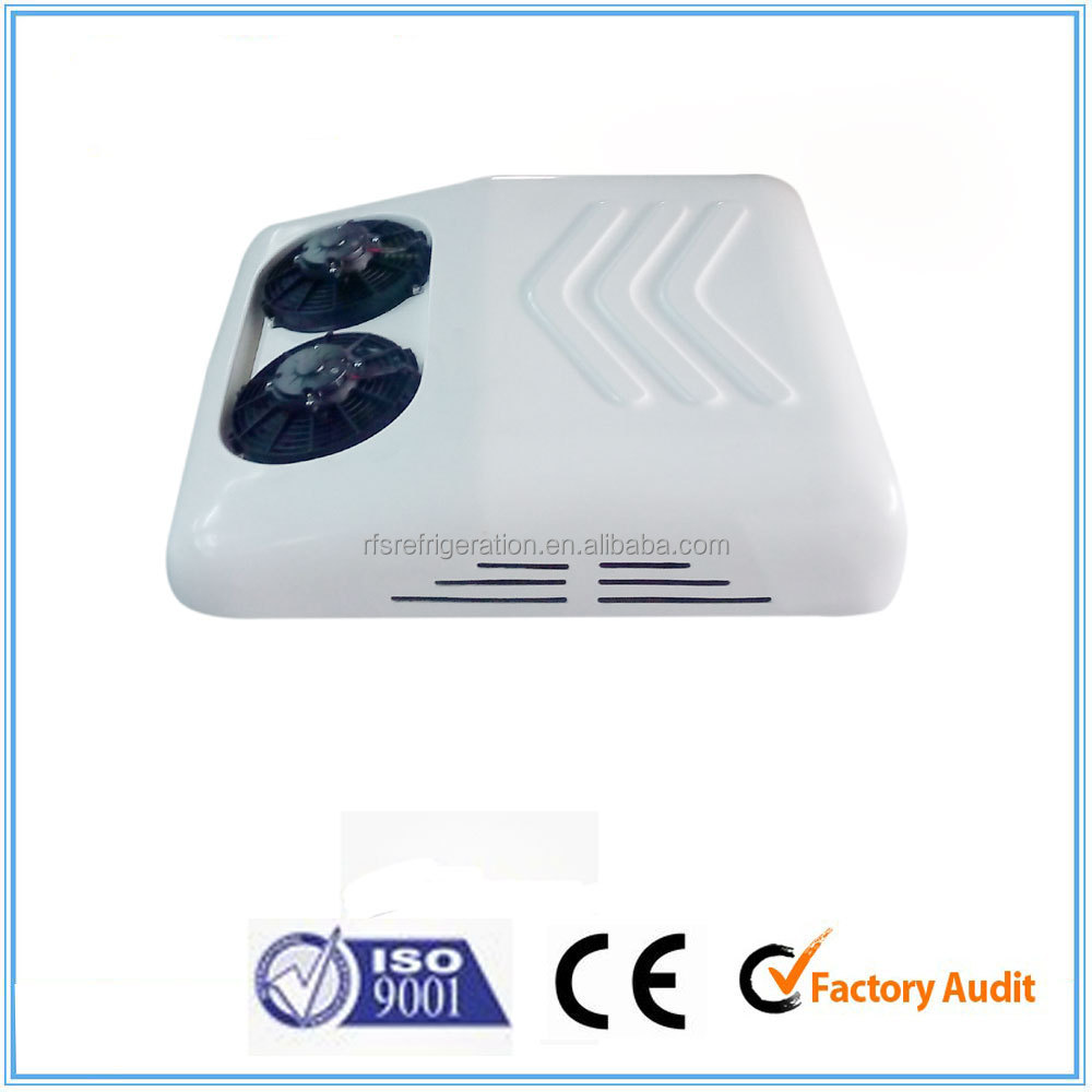 Battery driven van roof mounted air conditioner