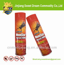 Good Quality Organic Bug Spray/ Aerosol Insecticide Spray