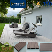 Durable low price wood plastic composite wpc board decking floor