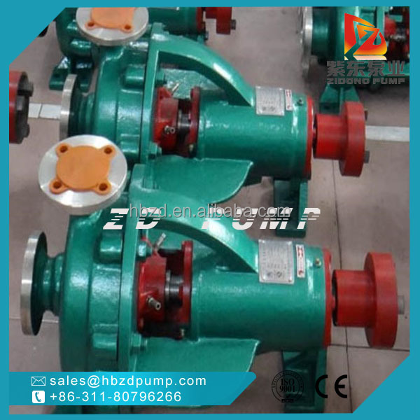No-leaks horizontal acid resistant nitric acid pump