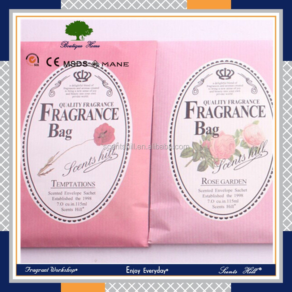 Handmade corporate gifts cheap best selling premium absorbent air freshener new products scented sachet