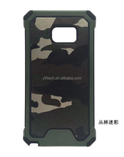 Accessory cell 2017 camouflage TPU PC mobile phone cover combo back silicone case for Samsung J710