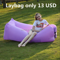 new premium inflatable air sleeping bag traveling laybag nylon 210T material baby sleeping bed