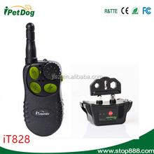 Black Anti Bark No Barking Remote Electric Shock Vibration Dog Pet Training Collar