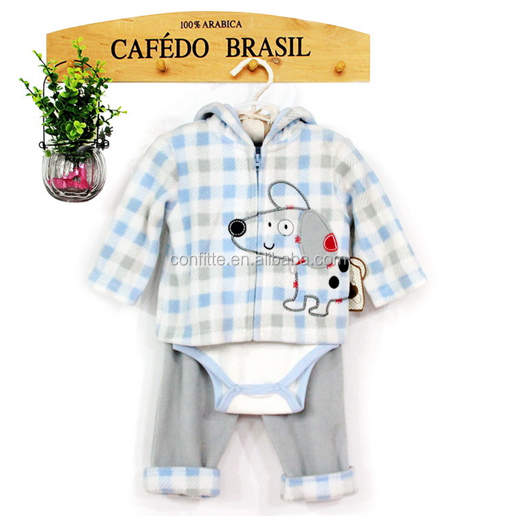 perfect cute mouse design baby boys 3 pcs clothing sets