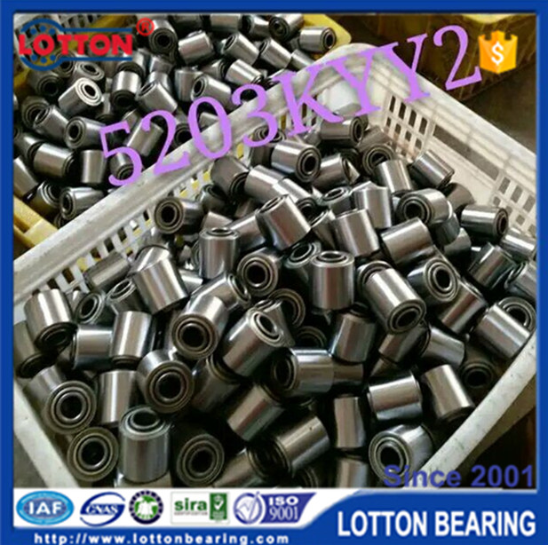 Hot Sale ISO9001 Certificated Long Working Life agricultural bearing 5203kyy2