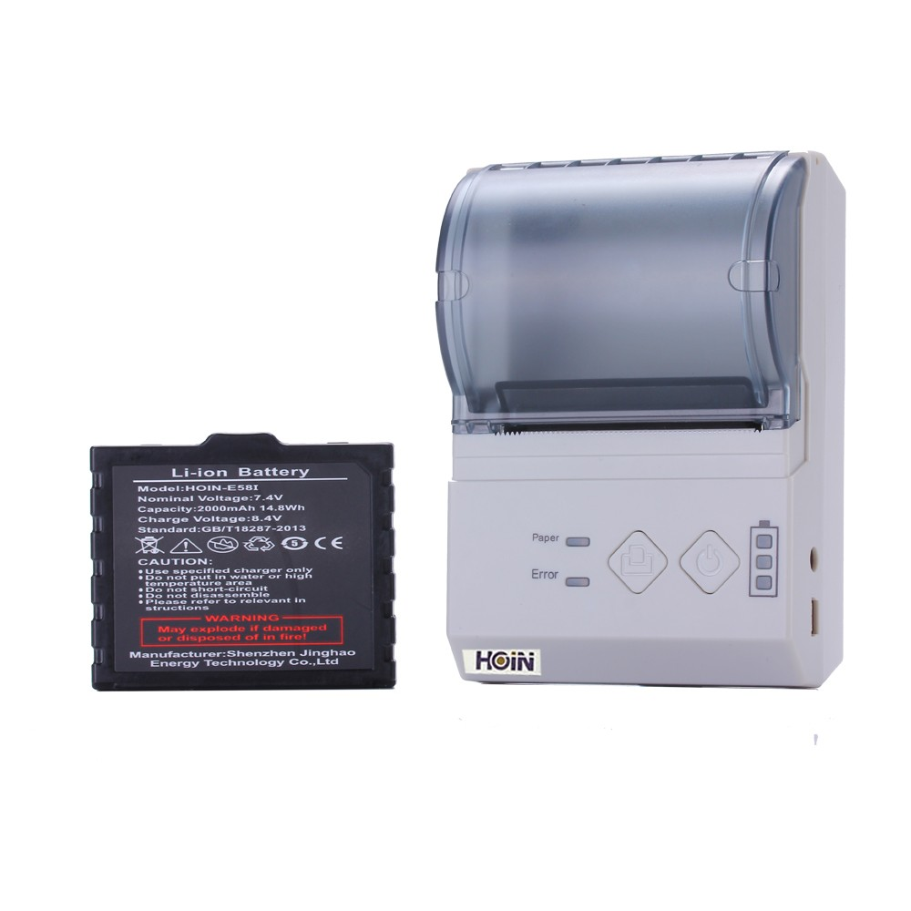 OEM ODM Thermal Android Mini Printer USB/Bluetooth/Wifi Printer Rechargeable Battery Printer