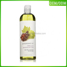 Organic essential grapeseed oil wholesale