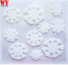 Removable Easily Peel off Jelly Gel Gem Fridge Walmart Supply Christmas Snowflake Window Sticker